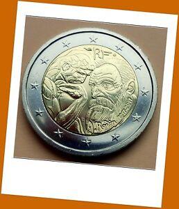 2 Euro Gedenkmünze Frankreich 2017 -100. Todestag von Auguste Rodin - Lieferbar