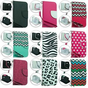 Wallet Pouch Case Phone Cover Accessory for ZTE Prelude 2 Z669