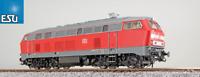 """ESU H0 AC/DC 31013 Diesellok BR 218 196 der DB """"Sound + Dampf"""" NEU + OVP"""