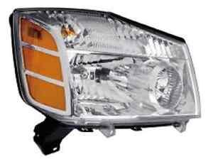 New Right passenger headlight light fit for 2004 2005 2006 2007 Titan