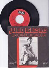 """Julio Iglesias, Un Canto A Galicia, G/VG 7"""" Single 0982-9"""