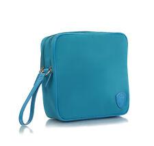 Heys 12044 HiLite Square Blue Nylon Toiletry Kit