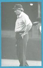Jim McKean (1979) Vintage Baseball Umpire Postcard GRN