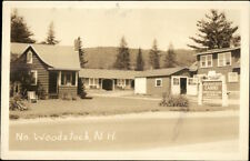 North Woodstock NH Golden Cress Cabins Real Photo Postcard