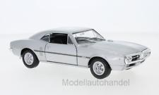 Pontiac Firebird, silber, 1967 - 1:24 WELLY   *NEW*