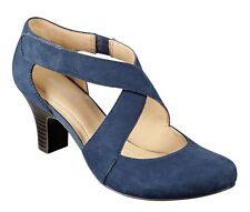 1458f5f0913 Easy Spirit Rovana pump navy blue suede leather 2.75