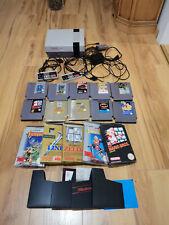 Nintendo NESE 001, NES, 1985 mit 10 Spielen