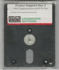 PRINTER SUPPORT DISC 1 For AMSTRAD PCW 8256 & 8512 Computers (1993 Version)