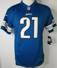 Nike DETROIT LIONS #21 REGGIE BUSH NFL Players Boys Jersey XL