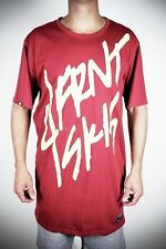 NEW 4Frnt Skis Billboard Mens Large Red Cotton Blend Tee Shirt Msrp$25