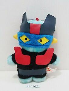 """Mazinger Z 290301 Robot Go Nagai  Banpresto Plush 7"""" 1991 Toy Doll Japan"""