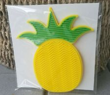 Pineapple Silicone Brush Cleaner Pad Scrubber Board Makeup Paint Mat Tool New