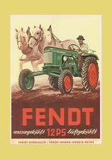FENDT Dieselross F 12 GH  F 12 HL   1951