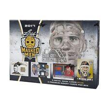 2016-17 Leaf Masked Men Hockey Hobby Box
