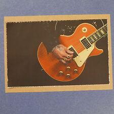 POP-CARD feat. TRACII GUNS LES PAUL , 11x15cm greeting card aaw