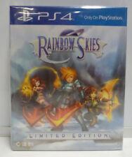 RAINBOW SKIES LIMITED EDITION PLAYSTATION 4 PS4 NEW SEALED REGION FREE
