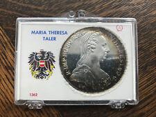 1780 Austria Maria Theresa Silver Thaler (AU/Better) ASW .7516