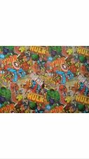 Comic Book Heroes Theme Wrapping Papper Roll