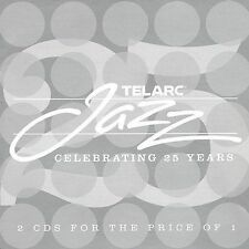 TELARC JAZZ: CELEBRATING 25 YEARS (VARIOUS ARTISTS) 2002 - 2CD - LIKE NEW