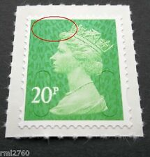 2013 20p MA13 Code SINGLE STAMP from Counter Sheet MINT