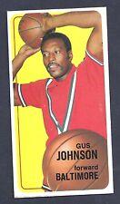 1970 Topps #92 Gus Johnson Forward Baltimore NM Plus