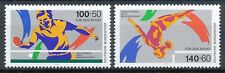 Bundespost 1408-1409 postfris motief sport
