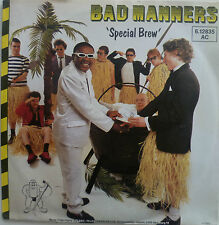 "7"" 1980 ska RARE IN MINT -! Bad Manners: Special Brew"