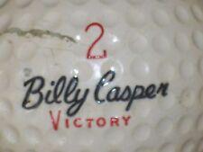 1962 BILLY CASPER VICTORY #2 SIGNATURE LOGO GOLF BALL