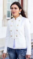 ZARA Basic Military Small BLAZER  Dress Coat Jacket