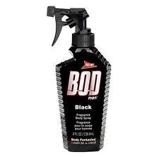 Bod Man Black by Parfums De Coeur Body Spray 8 oz Men Body Splash