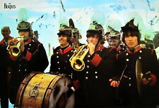"BEATLES ""SGT. PEEPERS BAND PLAYING INSTRUMENTS"" POSTER FROM ASIA - Classic Rock"