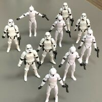 "Lot 10pcs 3.75"" Star Wars Stormtroopers OTC Trilogy No.5 Clone Trooper Figures"