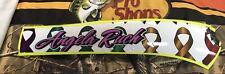 Angela Ruch Name Rail Nascar Race Used Sheetmetal