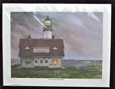 Portland Head Lighthouse Signed, #'d 238/300 Limited Edition! Cape Elizabeth, ME
