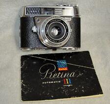 Vtg KODAK Retina Auto III Film Camera Schneider Kreuznach 45mm 2.8 Lens J0151