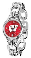 West Virginia Mountaineers Eclipse Ladies Watch - AnoChrome Dial