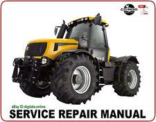 JCB 8250 (Tier 3) Fastrac Service Repair Manual CD