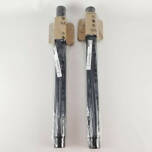 """(Lot of 2) Ikea Olov Leg Adjustable 23⅝ - 35⅜"""" Steel/Poly Black 302.643.01 New"""