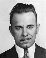 New 8x10 Photo: Mug Shot of Depression-era Outlaw John Dillinger