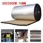 Trunk 2M 10mm Roll Car Sound Proofing Deadening Van Insulation Foam Mat Summer
