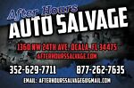 After Hours Auto Salvage FL