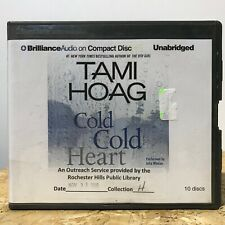 Cold Cold Heart by Tami Hoag Ex Library 10 CD Unabridged Audiobook Free Ship