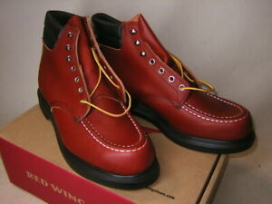 Red Wing Work Boots 8804 Supersole Moc Toe Oro Russet US 10.5 Width E NEW