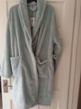 New listingJOHN LEWIS SOFT WAFFLE GREEN DRESSING GOWN ROBE. SIZE LARGE. NEW  WITH TAG-DEFECT 7999fff0f