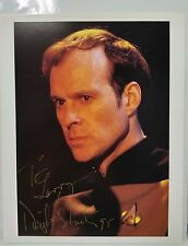 "Star Trek DS9 Autograph 8x10 Photo Signed by Dwight Schultz ""Barclay"" (LHAU-891)"