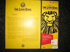 ELTON JOHN LION KING Basel Flyer Zusammenfassung