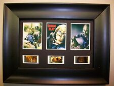 CHILDS PLAY Framed Trio Movie Film Cell Memorabilia - Compliments dvd poster