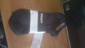 NWT Adidas 3 Pack Crew Ankle Socks Size 4.5 to 5.5