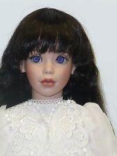 "25"" Elke Hutchin's Daphne, Porcelain Doll w/Cloth Body, LE #202/435 w/Box & COA"