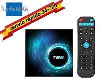 T95 TV BOX Android 10.0 Allwinner H616 Quad Core 2.4G WIFI 4K 4+32/64G TV CAJA
